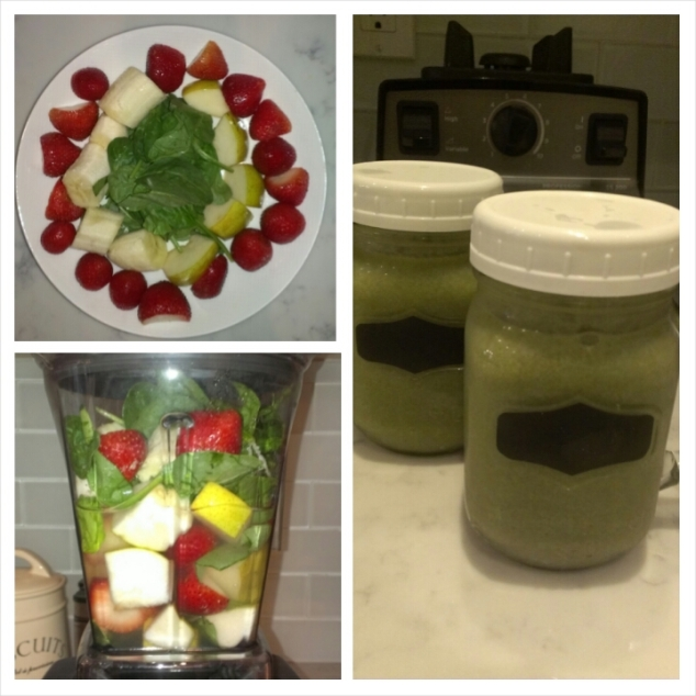 Smoothie - Spinach Fruit